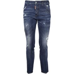 dsquared2 Cool Guy Slim Fit Skinny Jeans (€164) ❤ liked on Polyvore featuring men's fashion, men's clothing and men's jeans