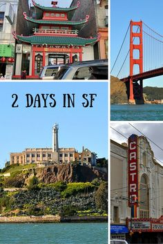 Use this itinerary to see all the SF essentials in just 2 days!