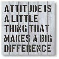 Attitude Is A Little Thing by Red Ink Design - prints Fine Art Prints, Framed Prints, Wall Art For Sale, Little Things, Picture Wall, Word Art, How To Look Pretty, New Zealand, Wall Decals