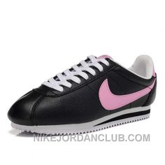 http://www.nikejordanclub.com/nike-cortez-leather-women-shoes-black-pink-x7ypy.html NIKE CORTEZ LEATHER WOMEN SHOES BLACK PINK X7YPY Only $72.00 , Free Shipping!