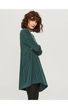 Koszulka oversize, Nowa kolekcja, khaki, RESERVED
