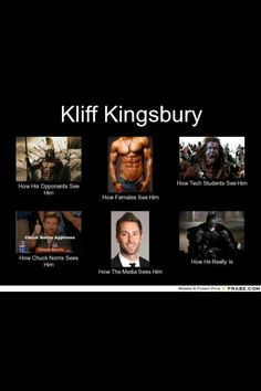 Kliff Kingsbury. Couldn't resist.