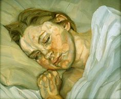 Lucian Freud 'Sleeping Head' 1979-80