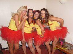 Hen Party Theme BAYWATCH www.tutufactory.co.uk