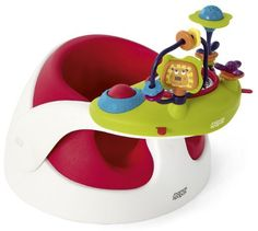 Baby Bud from Mamas & Papas is the perfect booster seat for bringing your little one to the table. It includes a Babyplay activity tray full of fun toys to keep baby amused ? just remove the tray when