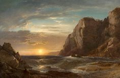 View Sunset on Grand Manan Island, New Brunswick by William Hart on artnet. Browse more artworks William Hart from Godel Co. Hudson River School Paintings, William Hart, Atlantic Canada, Prince Edward Island, New Brunswick, American Art, Sunrise, Fine Art, Outdoor