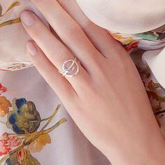 A TREBLE CLEF RING #bemylilou #silver #ring #jewelry #trebleclef