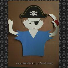 Pirate boy cutout