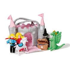One of our most popular ethical toys £31.95 Handmade, Soft Play Magical Castle