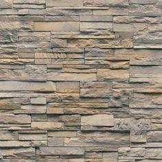 Veneerstone Imperial Stack Stone Vorago Flats 10 Sq. Ft. Handy Pack  Manufactured Stone