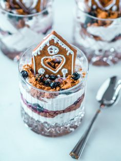 Piparkakkutrifle - joulun nopein jälkiruoka   Annin Uunissa Xmas, Christmas, Tiramisu, Cheesecake, Food And Drink, Sweets, Cooking, Ethnic Recipes, Desserts
