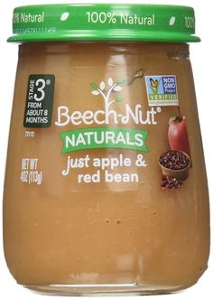 Beech-Nut Stage 3 Baby Food, Just Apple/Red Bean, 4.0 Ounce (Pack of 10) * Awesome product. Click the image at  : Amazon fresh