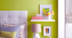 """Kick off in energetic fashion with Etsy's pick for color of the year: chartreuse. A bold color, this shade is """"known for increasing energy, encouraging unconventional thinking, and evoking feelings of growth and harmony."""" via Better Homes & Gardens Best Paint Colors, Room Paint Colors, Interior And Exterior, Interior Design, Exterior Colors, Interior Paint, Paint Companies, Cool Paintings, Color Of The Year"""