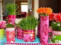 Easter themed decorating ideas--> http://hg.tv/wfam
