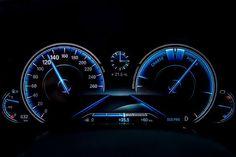BMW 7 2016 new cluster Hybrid