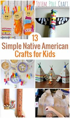 Are you learning about Native American History?  When learning about Native American Indians, children love making Indian arts and crafts.  To go along with your lesson plan, check out this list of 13 Native American Craft for Kids which includes Indian h