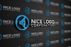 speaker logo by Indigo - @Graphicsauthor