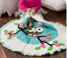 This Owl blanket is just gorgeous and it's something you will love to make. Check out the FREE Pattern now.
