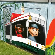 Einfach Augsburg!  #trafogallery #trafohaus #swa #augsburg #puppenkiste #augsburgerpuppenkiste #jimknopf #lukas #emma #art #kunst #graffiti #graffitiartist #graffitiart #graffitiwall #graffitiaugsburg #city #colourful #instacity #photooftheday #instagood #igers #tourism #fun