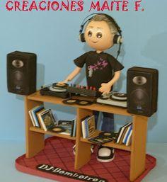 FOFUCHAS. Manualidades y Creaciones Maite: FOFUCHO DJ Música Electro Swing