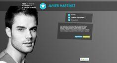 Actor JAVIER MARTÍNEZ
