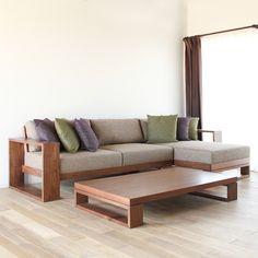 Wooden Sofa Designs, Home Room Design, Wooden Sofa Set Designs, Furniture Design Living Room, Sofa Design, Wooden Sofa Set, Sofa Set, Living Room Sofa Design, Sofa Bed Design