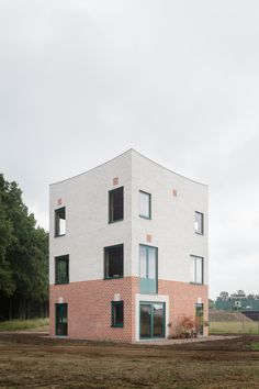 Backsteinturm zum Wohnen - Atlas House in Eindhoven von Monadnock