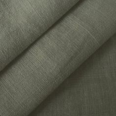 Anthracite 100% pure Linen Fabric by the metre
