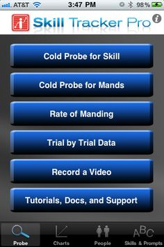 data tracker app iphone