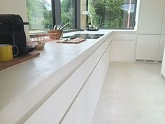 Tadelakt, Kitchen Flooring, Home Kitchens, New Homes, Bathroom, Interior, House, Trap, Diy