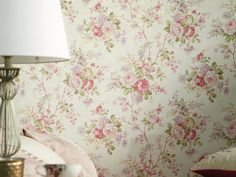 by  England's Finest  'Chelsea Garden' by England's Finest is a delightful trailing floral creating a tranquil & delicate design  click here if you wish to order samples  paste the paper  pattern repeat 20 in roll 20.5 in wide, 33 ft long coverage 56 sq. ft.