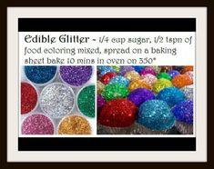 Edible Glitter!!!