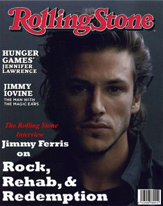 """Stage Dive's Jimmy Ferris on the cover of Rolling Stone. (features Gaspard Ulliel as a muse for Jimmy in the Kylie Scott """"Stage Dive"""" series) Jimmy Iovine, Kylie Scott, Gaspard Ulliel, Dive Bar, Book Boyfriends, Book Stuff, Romance Books, Rolling Stones, Hunger Games"""