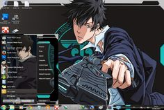 This page  about Free Download themes windows // Tema //7 //seven// 肌//テーマ//画題//窓//ウィンドウ//七つ//skin// Psycho Pass // サイコパス //  Shinya Kogami Shinya, Superman Wallpaper, Psycho Pass, Logo, Anime, Fictional Characters, Logos, Logo Type, Anime Shows