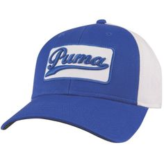 aa41e677aba Puma Golf Greenskeeper Cap   Hat Color Strong Blue  White Size Adjustable