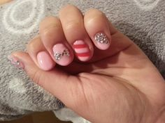 Mirae Yang shows off her gorgeous SensatioNail pink and red nail designs