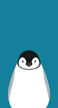 ペンギン Penguin Art, Penguin Love, Cute Penguins, Pinguin Illustration, Art And Illustration, Graphic Design Illustration, Pinguin Tattoo, Polo Norte, Cute Wallpapers