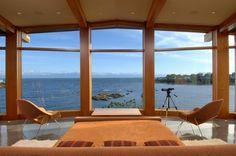 modern west coast home design | via leslee farrell