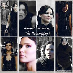 """""""Katniss Everdeen:  The Mockingjay""""  love this collection of stills from the 1st trailer, just released on Sunday."""