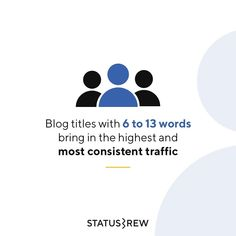Optimization of blog titles is really important for getting your blog up. Not only because your titles can impact your search result rankings, but they can also affect user experience. Even before a reader clicks on a link, the blog post's title is what catches their attention. - SEO Content Marketing, Online Marketing, User Experience, Search Engine, Seo, How Are You Feeling, Branding, Social Media, Words