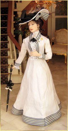 Julia, 1908 silk dress