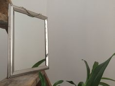 Former mirror metal frame. by CommeHier on Etsy