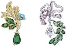 DIOR * Diamond Grove of the Domes Earrings