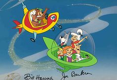 The Jetsons and Yogi and Boo Boo - Hanna-Barbera Limited Editions - World-Wide-Art.com