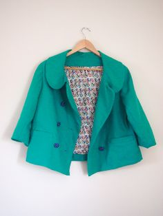 Colette Anise Jacket by Ruth Clothing Patterns, Sewing Patterns, Sewing Ideas, Couture Coats, Colette Patterns, Women's Clothes, Clothes For Women, Business Fashion, Diy Fashion