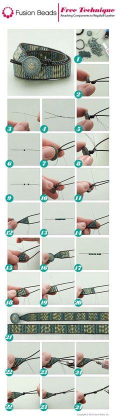 Use bugle beads and...