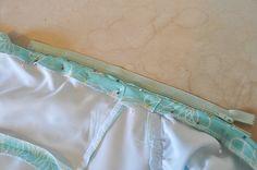 how to: side seam zipper insertion // via Casey's Elegant Musings