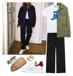 """""""Untitled #1139"""" by sebende ❤ liked on Polyvore featuring The Quiet Life, adidas Originals, Missoni and Marco Bicego"""