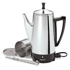 Presto 02811 stainless steel coffee maker pot has constantly provided the perfect flavored coffee - much better than many cafes we visit, much better than family and friend coffee. Galvanized Bathtub, Stainless Steel Coffee Maker, Collapsible Dog Bowl, Airstream Remodel, Coffee Service, Mini Fridge, Hot Coffee, Coffee Drinks, Jars