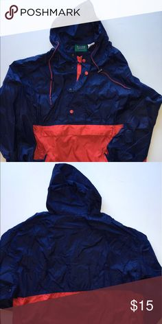 Vintage Dash sport Windbreaker Vintage Dash Sport Red and Blue Windbreaker size Large dash sport Jackets & Coats Windbreakers